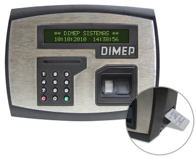 Dimep PrintPoint II emitindo comprovante