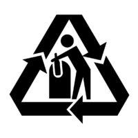 Simbologia de materiais de embalagens para reciclagem - Simbolo de aluminio ...