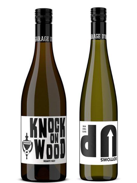 Rótulos de vinho, design criativo