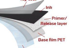 Do que é feito o ribbon de impressão térmica?