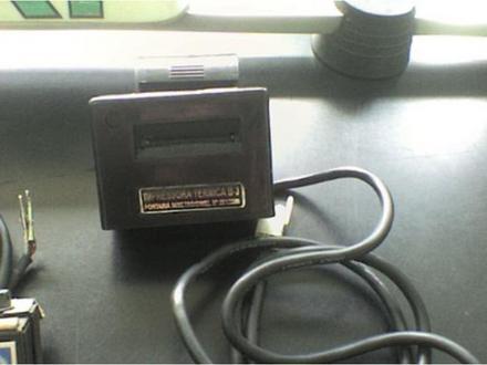 Impressora de bobina térmica para taxímetro - B3 - Bossa3