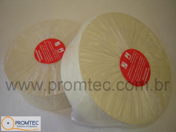 Bobina de papel - Ponto Digital / Eletrônico - 57mm