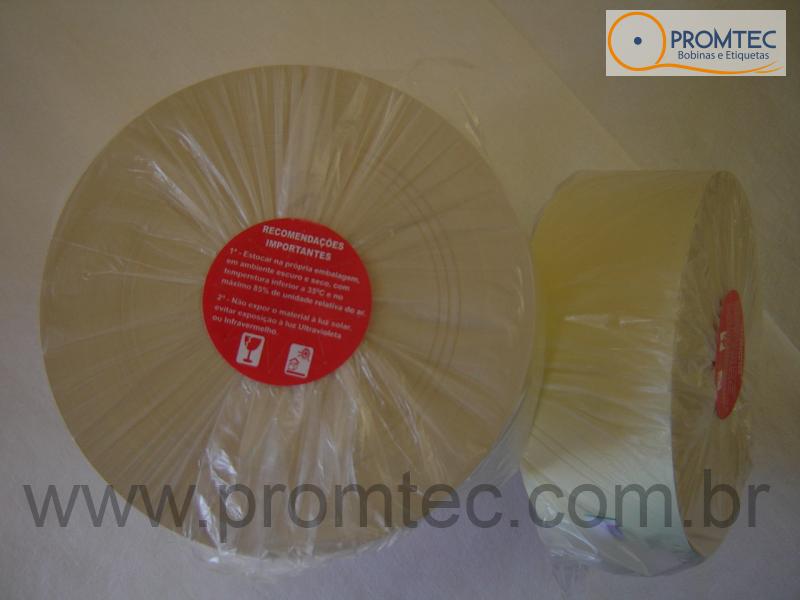 Bobina de papel térmico - Ponto Eletrônico - 57mm