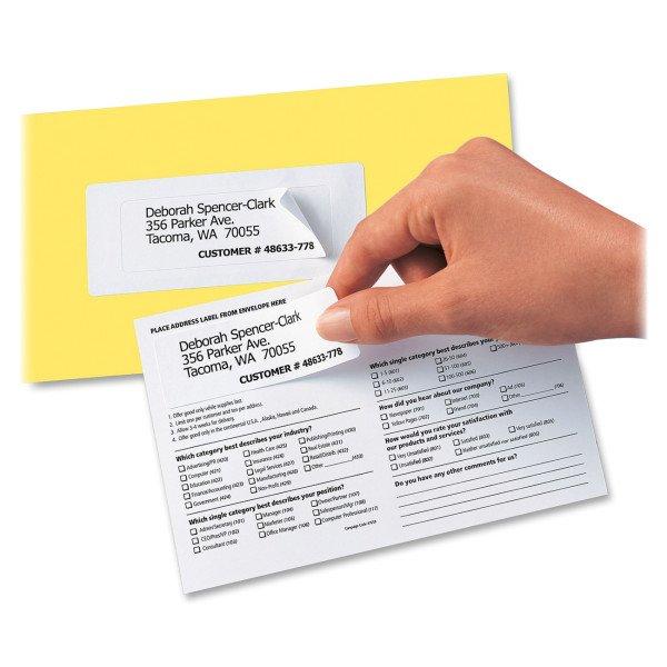 Etiqueta Duplo Uso - Pesquisas, Cartas, Catálogos com Devolução