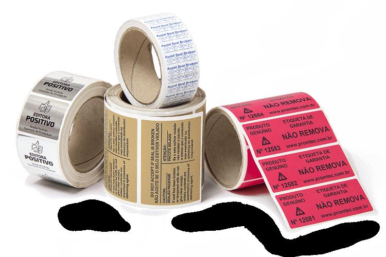 Tags e Etiquetas sem Adesivo