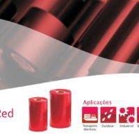 Ribbon Resina Vermelho para GHS