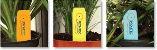 Tag para vasos de flores e plantas