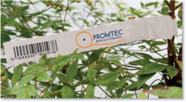 Tags para amarrar em plantas