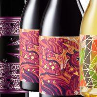 rótulos de vinho