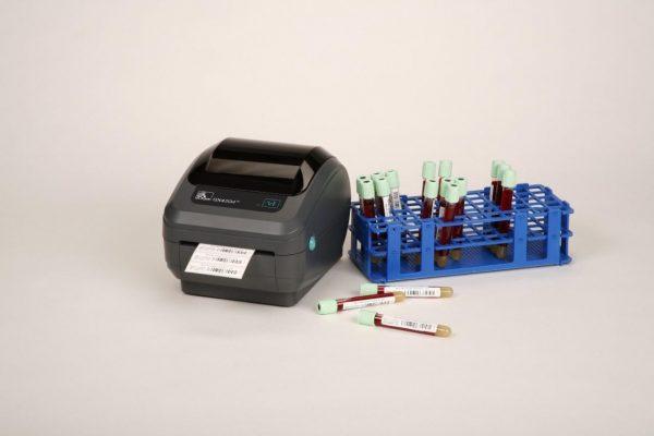 GX420d Etiqueta de BOPP Termico em tubos
