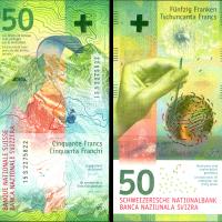 Nota de 50 Francos Suíços