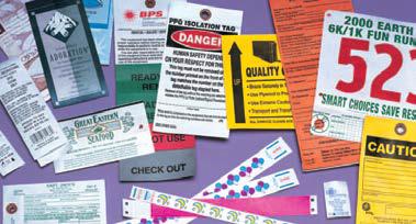 Tyvek - Etiquetas de Alerta e Aviso