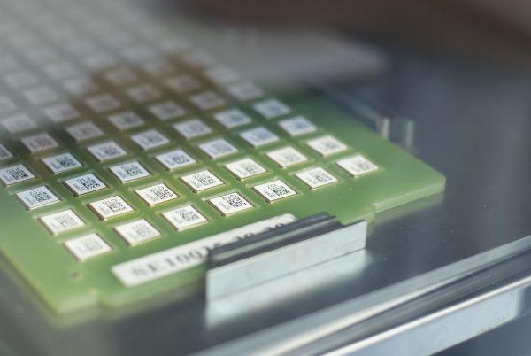 Etiqueta PCB Componente Eletrônico