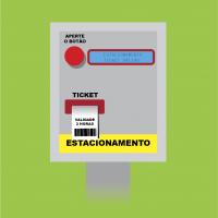 Bobinas para tickets de estacionamento