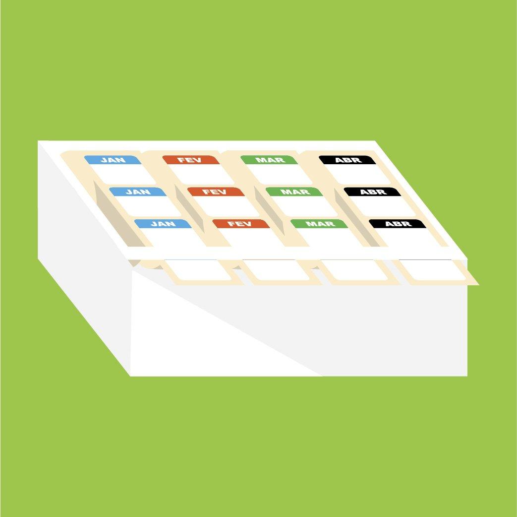 Etiquetas para organização de estoque