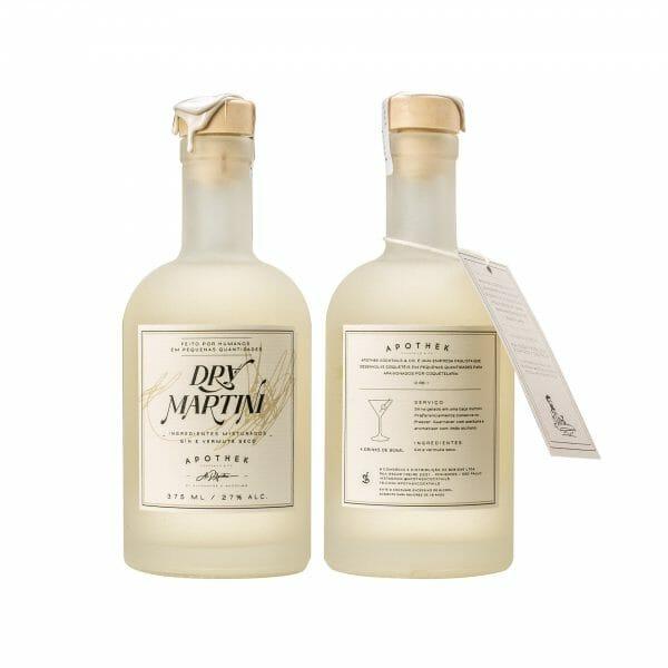 Rótulo Dry Martino - Apothek Cocktails & Co.