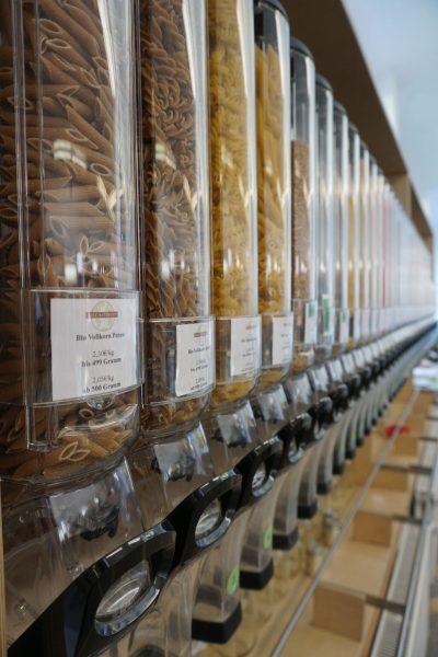 sessão de produtos vendidos a granel