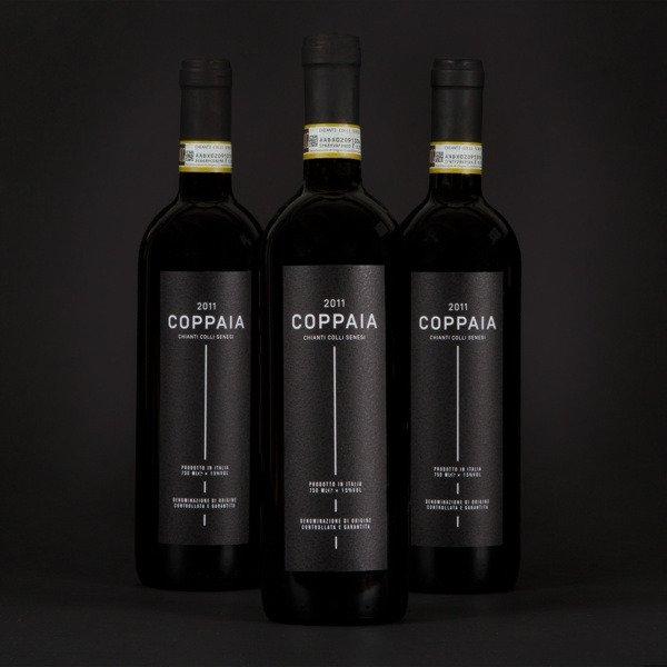 tendências de design de rótulos especiais preto de vinho