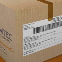 caixa correio com etiqueta adesiva danfe simplificado promtec