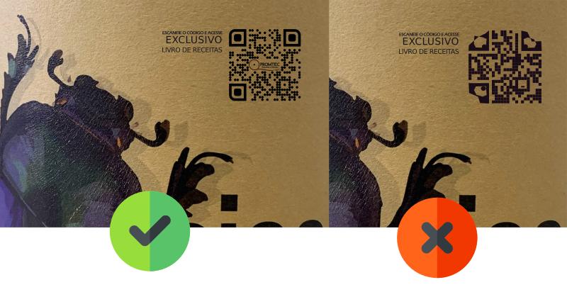 Evite estes erros ao usar QR Code em rótulos e publicidade para evitar - alterar demais a forma